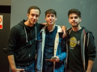 Pablo, Manuel and JAime-Sevilla